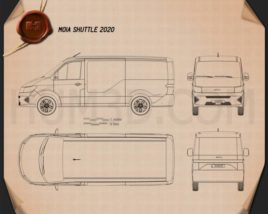 MOIA Shuttle 2020 Blueprint