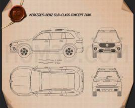 Mercedes-Benz GLB-class 2019 Blueprint
