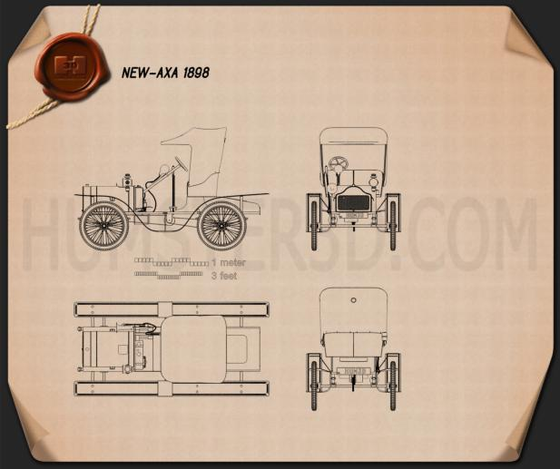 New Axa 1898 Blueprint