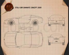 Stola S86 Diamante 2005 Blueprint