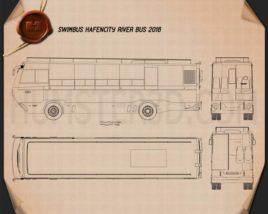 Swimbus Hafencity Riverbus 2016 Blueprint