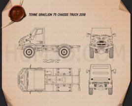 Tekne Graelion 75 Chassis Truck 2019 Blueprint