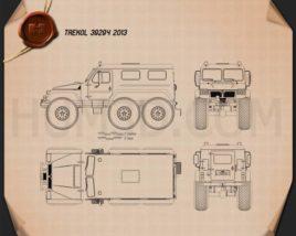 TREKOL 39294 2013 Blueprint