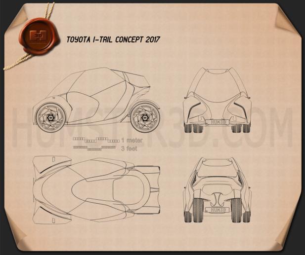 Toyota i-TRIL 2017 Blueprint