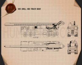 VDC Drill Rig Truck 2014 Blueprint