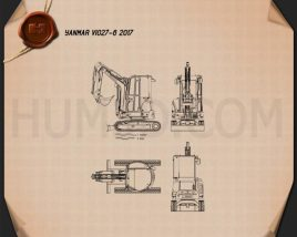 Yanmar ViO27-6 2017 Blueprint