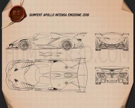 Apollo Intensa Emozione 2019 Blueprint