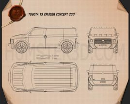 Toyota Tj Cruiser 2017 Blueprint
