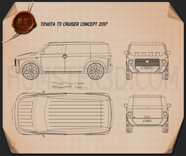 Toyota Tj Cruiser 2017 Blueprint