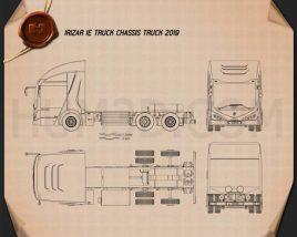 Irizar IE Truck Chassis Truck 2019 Blueprint