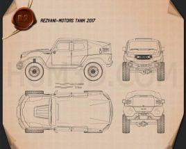 Rezvani Motors Tank 2017 Blueprint