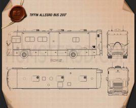Tiffin Allegro Bus 2017 Blueprint