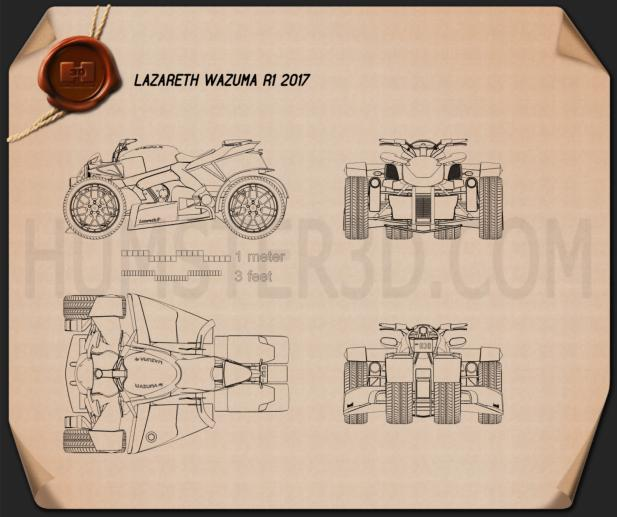 Lazareth Wazuma R1 2017 Blueprint