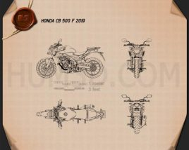 Honda CB500F 2019 Blueprint
