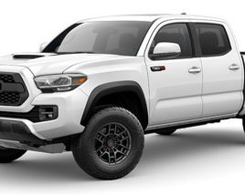 3D model of Toyota Tacoma 2020