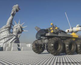 2001, a space LEGOdyssey