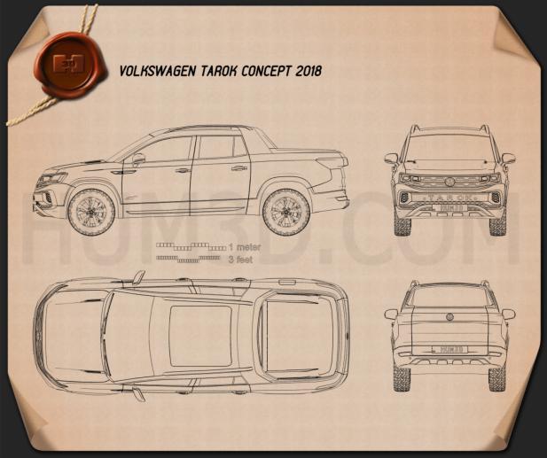 Volkswagen Tarok 2018 Blueprint