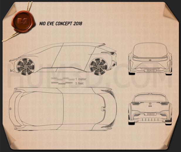 NIO EVE 2018 Blueprint