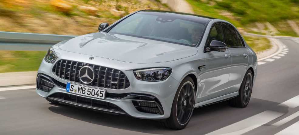 Mercedes-Benz E63 AMG sedan 2021