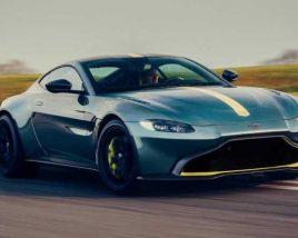 3D model of Aston Martin Vantage AMR 2020