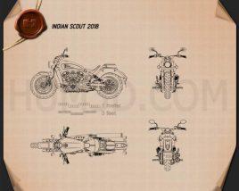 Indian Scout 2018 Blueprint
