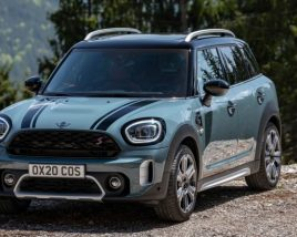 3D model of Mini Countryman 2021