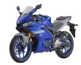 3D model of Yamaha YZF-R25 2020