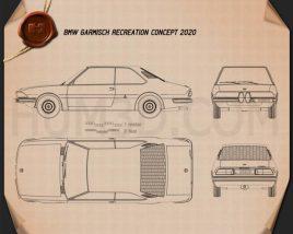 BMW Garmisch Recreation 2020 Blueprint