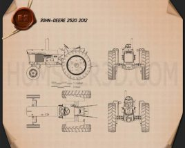 John Deere 2520 2012 Blueprint