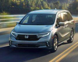 Honda Odyssey 2021 3D model