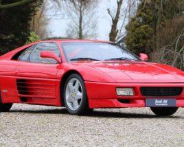 3D model of Ferrari 348