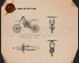 Honda CRF150R 2018 Blueprint