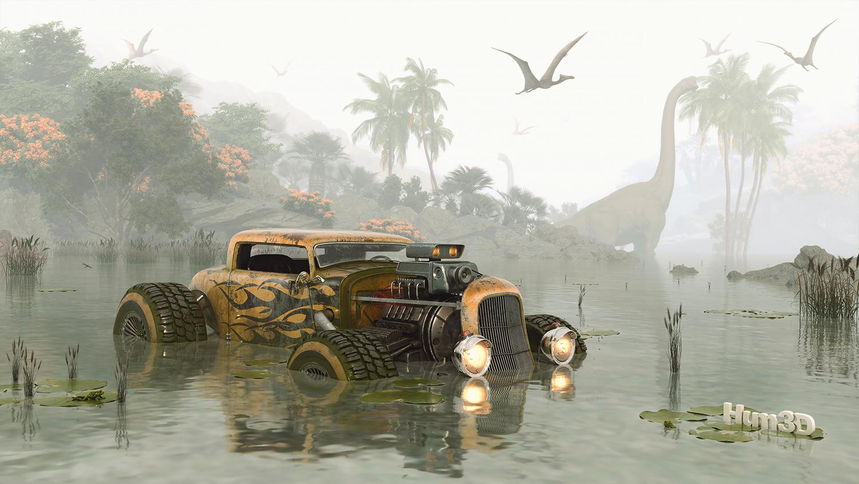 Survivor Dinosaur by Vahid Montazeri