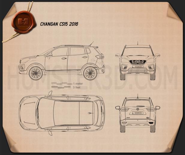 Changan CS15 2016 Blueprint