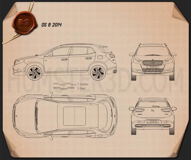 DS 6 2014 Blueprint