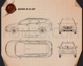 Baojun 310 W 2017 Blueprint
