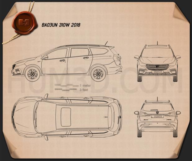 Baojun 310W 2018 Blueprint