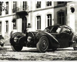 The last picture of 'La voiture noire'