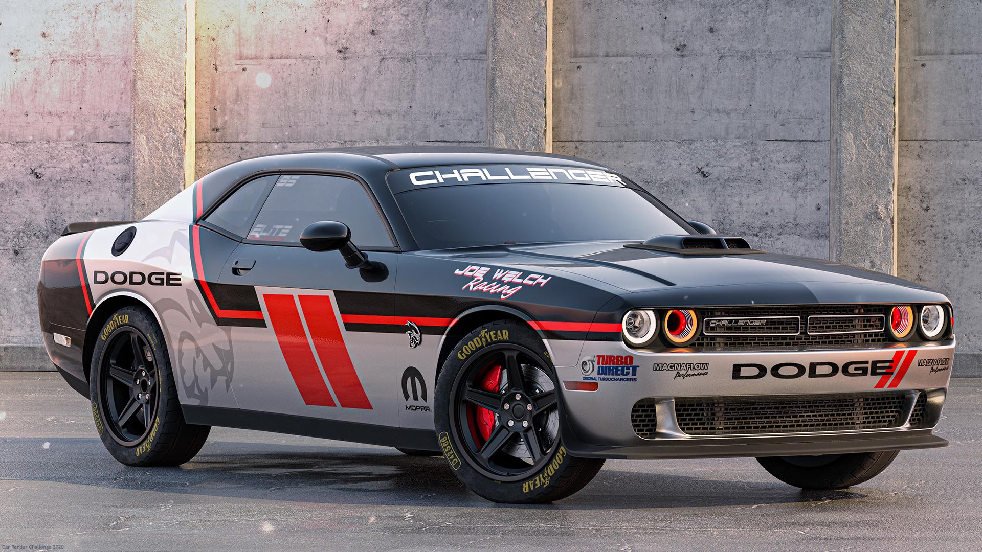 Dodge Challenger by Dachi Gogebashvili