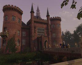 Return to Moyland Castle