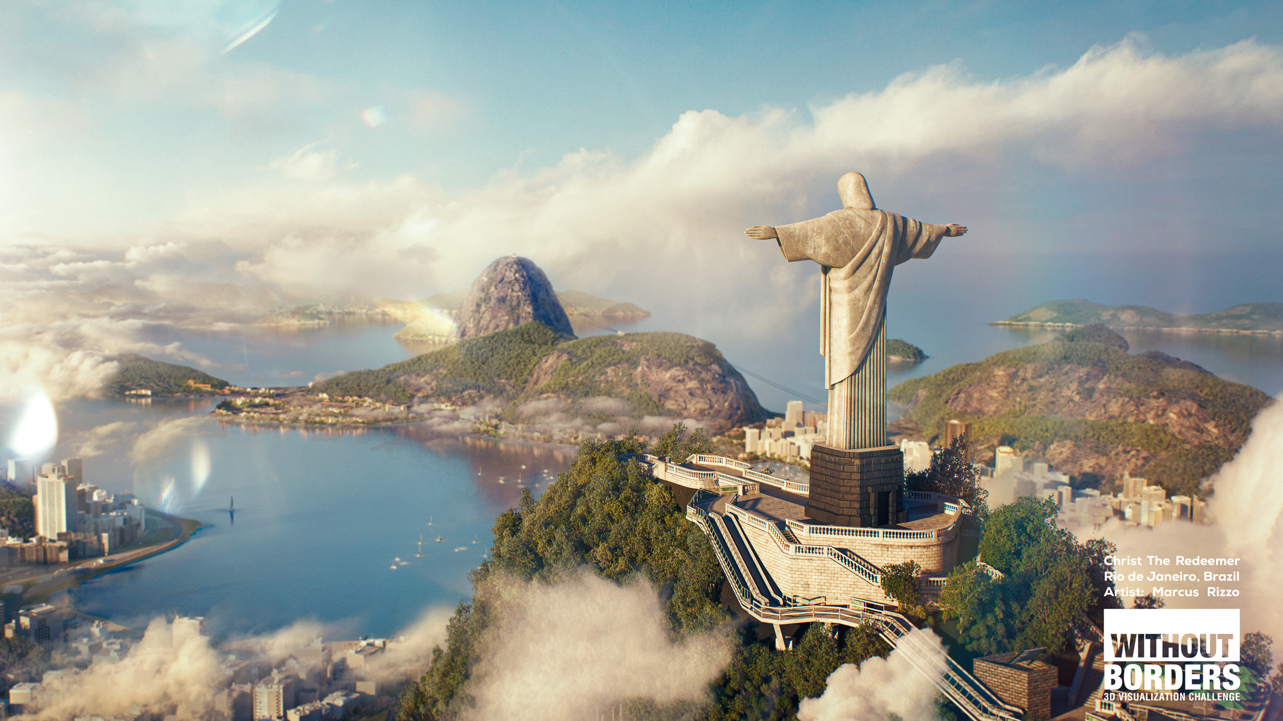 Christ The Redeemer by Marcus Rizzo