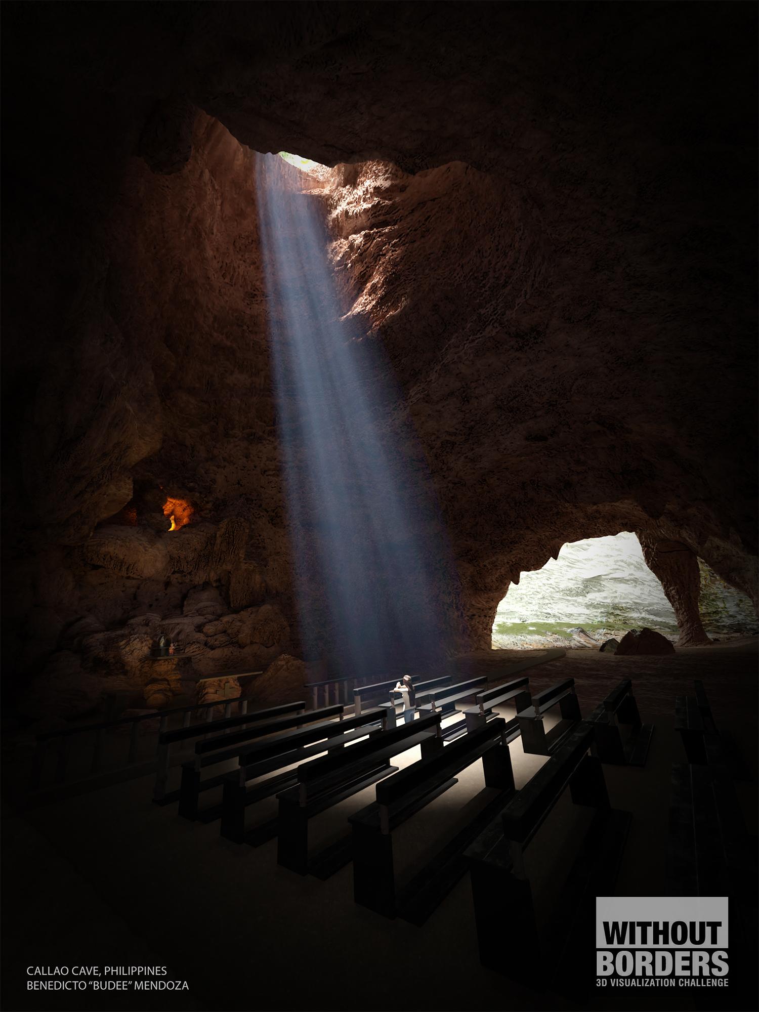 Callao Cave 3d art
