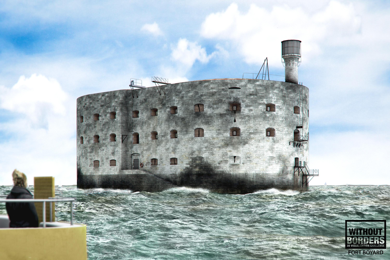 Fort Boyard 3d art