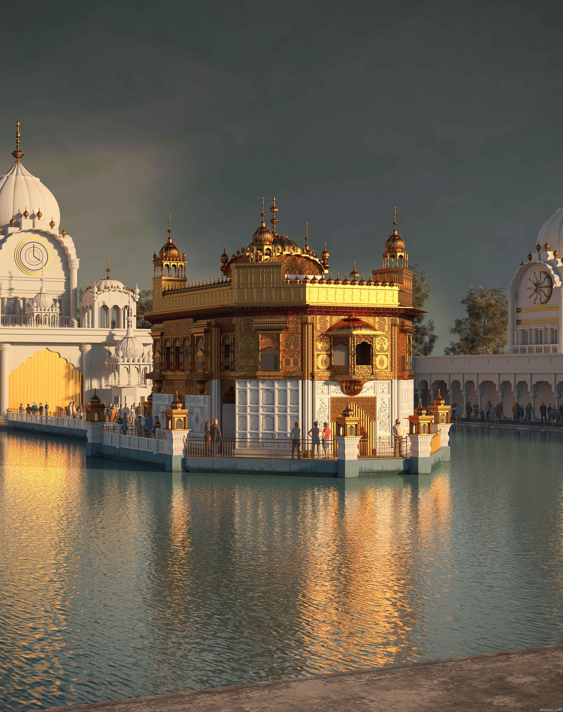 Golden Temple by Praveen Nayak