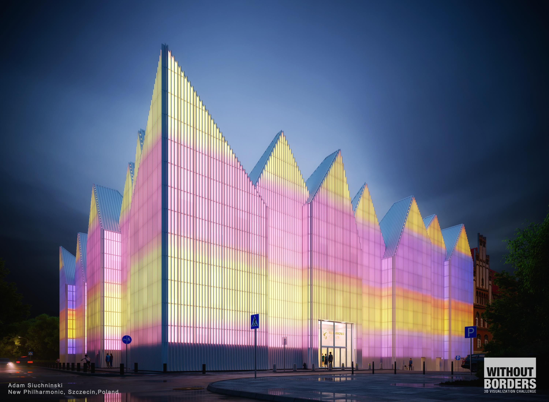 New Philharmonic, Szczecin, Poland 3d art