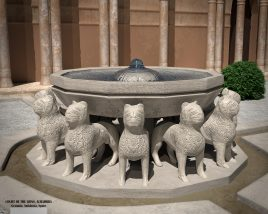 The court of Lions, Alhambra