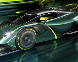 Aston Martin Valkyrie AMR Pro 2022 3D model