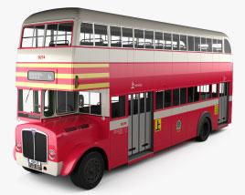 AEC Regent Bus à Impériale 1952 Modèle 3D