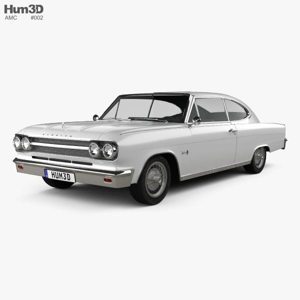 AMC Marlin 1965 3D model