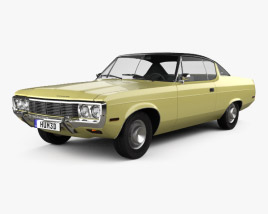 3D model of AMC Matador coupe 1972
